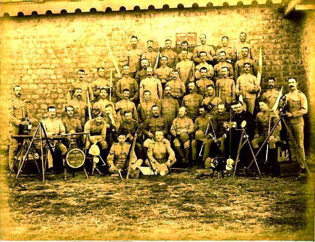 Royal Signals ... Army School Of Signals Mhow, India 1898/99
