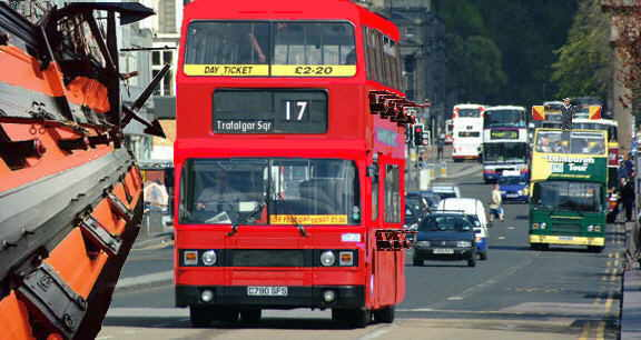Royal Signals ... The No 17 Bus