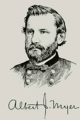 Royal Signals ... WigWag Inventor Albetrt James Myer (1827 - 1880