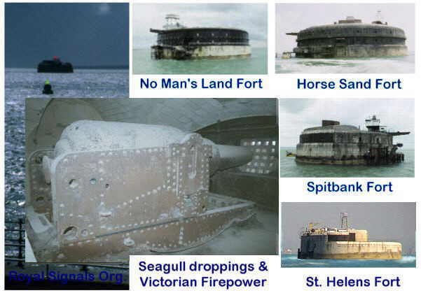 Royal Signals ... Isle of Wight Solent defence Forts